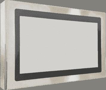 Panel PC pour température extrêmes et haute luminosité tactile capacitif ou résistif en coffret INOX IP65 sur les 6 faces, processeur Intel Core Celeron 3955U/ i3 6100U / i5 6300U / i7 6600U