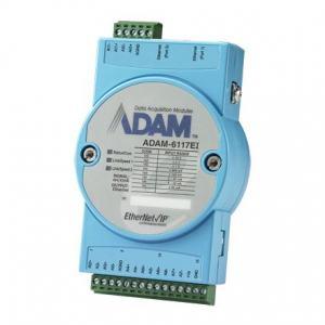 Module ADAM Entrée/Sortie sur bus de terrain, 8-ch Isolated AI EtherNet/Ip