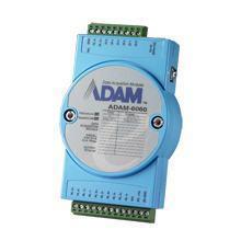 ADAM-6060-CE Module ADAM 6060 - Entrée/Sortie sur Ethernet Modbus TCP, 6 Relay Output/6 DI Module