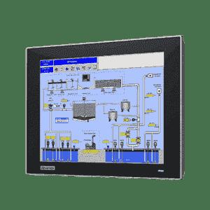 """Ecran tactile industriel 12.1"""" Resistif avec VGA/DP"""