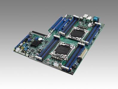 ASMB-913I-00A1E Carte mère industrielle pour serveur, LGA2011-R3 EATX SMB w/8 SATA/3 PCIe x16/4 GbE/I