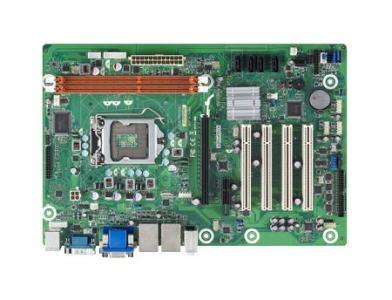 Carte mère ATX semi-industrielle, LGA1155 i7/i5/i3,Celeron VGA/DVI, 6 COM and 2GbE