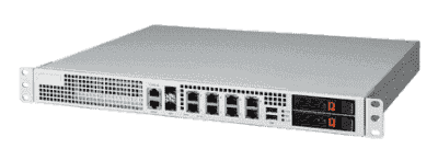 Plateforme blade réseau Packetarium, CN6880 SFP+x2P RJ45x8P SATAx2 USBx2 Single PSU