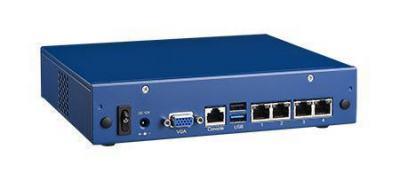 Plateforme PC pour application réseau, Tabletop, Celeron J1900/4GbE/2BP/12V/Fan