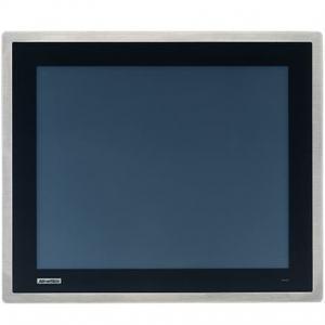 """Ecran 17"""" façade avant inox IP66 tactile résistif VGA+DP -20 ~ 60 °C"""