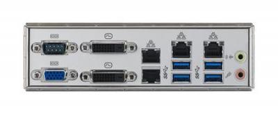 Carte mère industrielle pour serveur, LGA 1151 uATX Server Board w/4 PCIe+2 lan ports