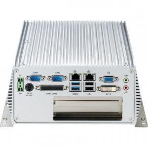 PC Fanless industriel Intel® Core™ i5/i3 3ème génération avec 1 slot PCI + 1 slot PCIeX4