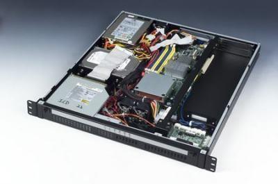 """ACP-1010MB-00BE Châssis 1U 19"""" rack pour carte mère industrielle ATX"""