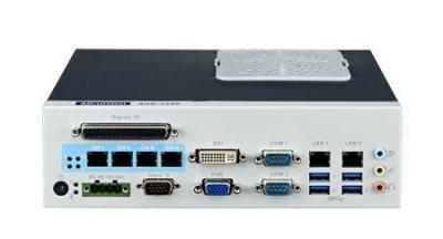 PC industriel pour application de vision, H61, 4 PoE, 2 LAN, 4 USB3.0, 6 COM, 8-bit DIO