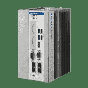 PC industriel fanless à processeur Intel Core i3-4010U, 8GB, 4 X Ethernet, 3 X COM, iDoor, PCIe