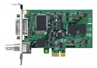 Carte industrielle d'acquisition vidéo, 1ch SDI/HDMI/DVI-D/DVI-A/YPbPr SW video card