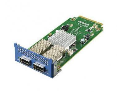 Carte Mezzanine réseau, 2-ports 40G QSFP+ NMC card w/ Intel XL710 chip