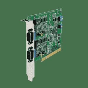 Carte PCI de communication série, 2 ports RS232/422/485 isolés