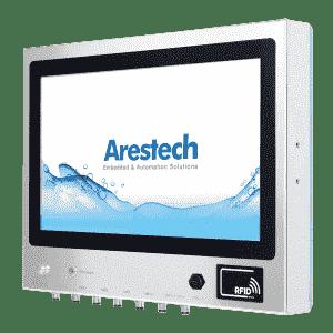"""Panel PC tactile 21.5"""" en inox étanche IP66/69K avec un processeur Intel® Pentium® N4200"""