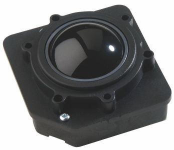 Trackball En bakélite 50mm de diamètre Trackball couleur noire Etanchéité: IP65