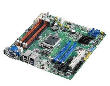 ASMB-584G2-00A1E Carte mère industrielle pour serveur, LGA 1150 uATX Server Board with 2 PCIe x8 link