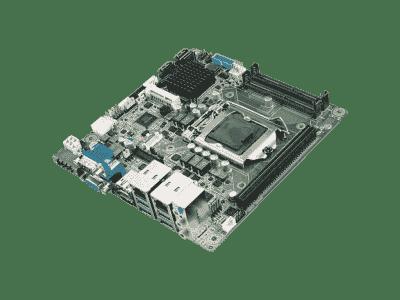 AIMB-275G2-00A1E Carte mère industrielle, miniITX LGA1151 VGA/DP/HDMI/PCIex16/2GbE,RoHS