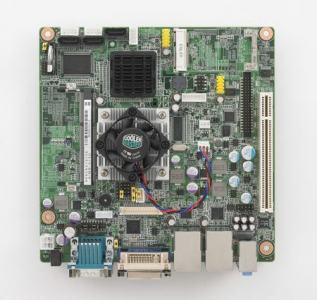 AIMB-213N-S6A1E Carte mère industrielle, ATOM N455 1.6G MINI ITX w/VGA,LVDS,2GbE,6COM