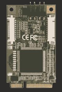 Carte industrielle d'acquisition vidéo, Minicard,8 ch,analog video input,SW compression
