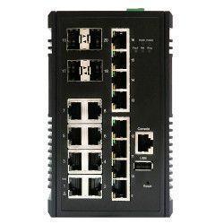 Switch PoE 10Gb 16 ports RJ45 Gb et 4 SFP 10Gb