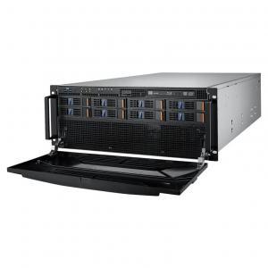 """Serveur Rack 4U peu profond jusqu'à 8*3.5""""/2.5"""" hot-swap disques"""