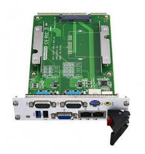 Cartes pour PC industriel CompactPCI, MIC-3329 RIO-1 w/ 2LAN&2COM ports, dual slot