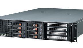 AGS-920I-R14A1E Serveur à grande capacité de calcul graphique, 2U Xeon HPC chassis w/1400W RPS w/MB/4 GbE/IPMI
