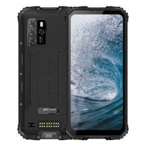 X67 Smartphone durci 6'' étanche Android 10 8G/128Go, 4G/5G, WiFI, BT, NFC, GPS
