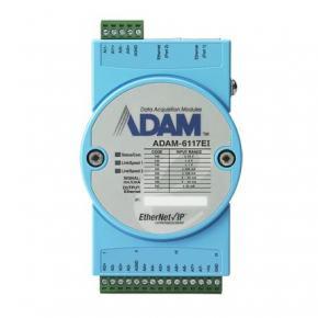ADAM-6117EI-AE Module ADAM Entrée/Sortie sur bus de terrain, 8-ch Isolated AI EtherNet/Ip