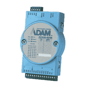 ADAM-6256-AE Module ADAM Entrée/Sortie sur MobusTCP, 16-ch Isolated Digital Output