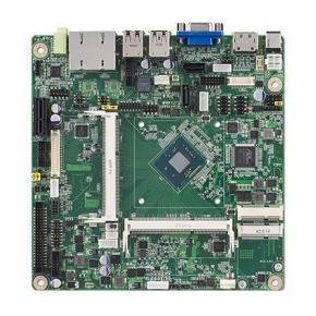 AIMB-215L-S6A1E Carte mère industrielle, ATOM Baytrail QC2.0G MINI-ITX. VGA,DP,1GbE