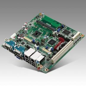 AIMB-214E-S6A2E Carte mère industrielle, ATOM D2550 MINI ITXw/VGA,2LVDS,2GbE,6COM,ASM1061