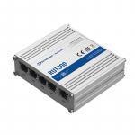 Routeur industriel ethernet 4 ports ethernet, 1 port WAN Firewall, VPN et VLAN