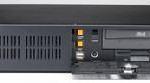 """Châssis industriel 2U pour PC rack 19"""" à carte mère ATX/MATX sans alimentation"""