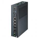 PC Fanless puissant Intel i3 + 8Go DDR4  + Rail Din + 8 x DI, 8 x DO, 4 x COM, 3 x LAN, 4 x COM, 3 x USB 3.0, 1 x USB 2.0, 2 x DP 1.4