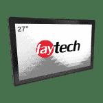 "Ecran tactile capacitif industriel 27"" IP65/IP40"