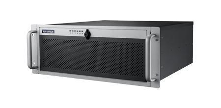 """ACP-4340MB-40ZE Châssis silencieux 4U 400W pour PC rack 19"""" avec carte mère ATX/MATX et 4 disques extractibles"""