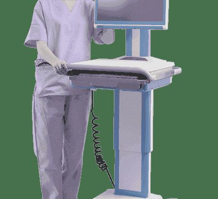 AMIS-50-PC5-D0-AE Chariot pour application médicale, AMIS-50_Box PC w/AIMB-230-Core i5, DC, Fanless