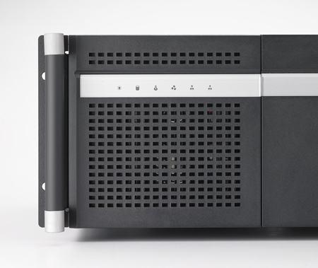 """ACP-4360BP-00XBE Châssis 4U pour PC rack 19"""" PICMG1.0 et 1.3 et 6 disques extractibles"""