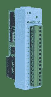 ADAM-E5017UH-AE Module ADAM Entrée/Sortie sur EtherCAT, 8 entrées analogiques rapides