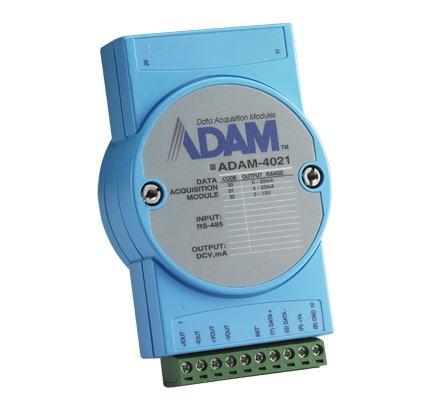 ADAM-4021-DE Module ADAM sur port série RS485, AO Module