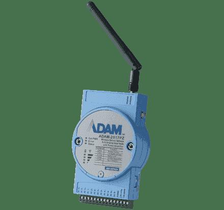 ADAM-2017PZ-AE Module ADAM ZigBee, Wireless 6-ch Analog Input Node with P.A.