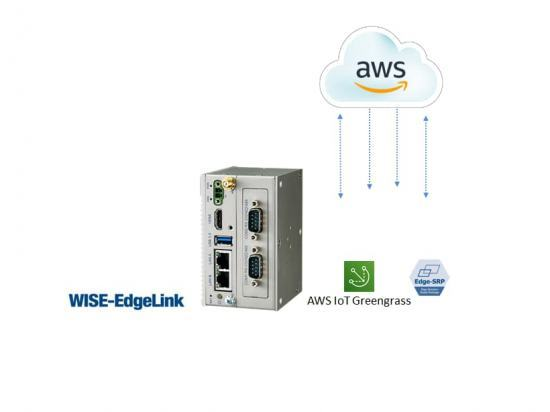 ESRP-AWS-UNO2271 PC Fanless Compatible AWS IoT GreenGrass 3000 tags