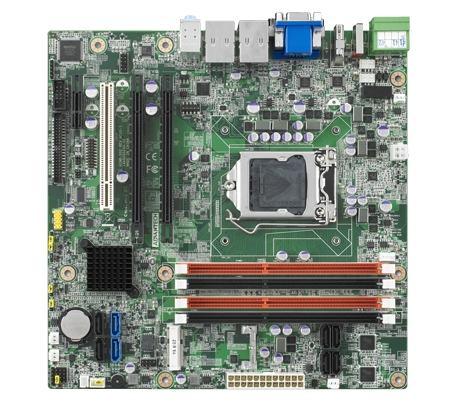 AIMB-502WG2-00A1E Carte mère industrielle, LGA1155 mATX VGA/DVI/HDMI/eSATA/PCIe 8x2/C216