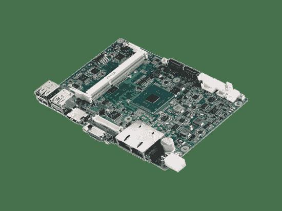 PCM-9310AQ-S6A1E Carte mère industrielle biscuit 3,5 pouces, Intel E8000 SBC,DDR3L,HDMI,VGA,LVDS,mSATA