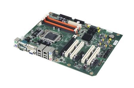 AIMB-780QG2-00A1E Carte mère industrielle, LGA1156 ATX IMB w/VGA/DVI/PCIe/2GbE/4 COM