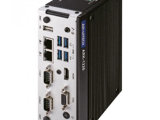 ARK-1220F-S6A1 PC fanless compact Rail Din avec Intel Atom E940 avec port Lan isolé et ports COM