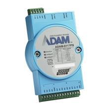ADAM-6117PN-AE Module ADAM Entrée/Sortie sur bus de terrain, 8-ch Isolated AI PROFINET