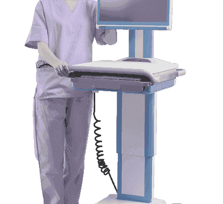 AMIS-50-1M1-F2NE Chariot pour application médicale, AMiS-50, w/o PC w/ motor, 420W, Câble - POC/AIO