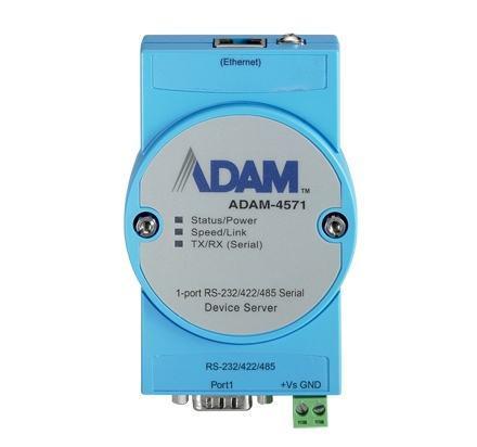 ADAM-4571-CE Passerelle série ADAM, 1-port RS-232/422/485 Serial Device Server